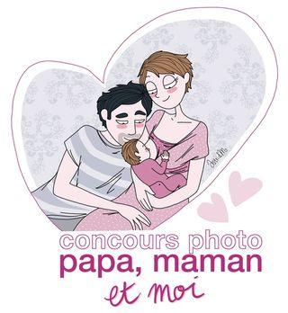 Concours-papa-maman-moi blog