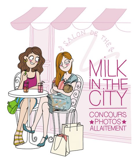 Milk in the city pour blog