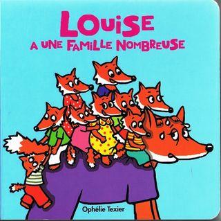 Louise a une famille nombreuse couv